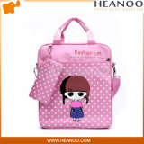 熱い販売のきれいな男の子の女の子の子供の漫画の学校のメッセンジャー袋