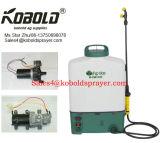 irroratrice a zaino elettrica della pompa a diaframma dello spruzzatore della batteria 20L 12V