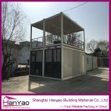 Casa prefabricada del envase del bajo costo para el hogar del personal