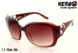 Nice Hinge Kp50857를 가진 새로운 Design Fashion Plastic Sunglasses