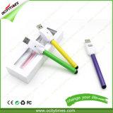로고 O 펜 Vape 새싹 접촉 510 Buttonless 도매 주문 건전지 및 USB 충전기 장비