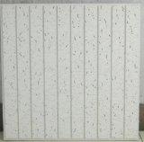 Mineralholzfaserplatte, akustische Decke, verschobene Materialien