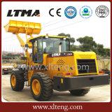 Carregador da parte frontal do equipamento de construção 3t de Ltma com transmissão do eixo intermediário