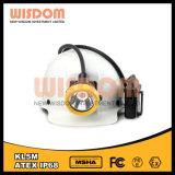 Shenzhen sabiduría impermeable IP68 LED lámpara de minero de carbón, faros Kl5m