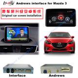 차 Mazda3 향상 접촉 항법, WiFi, Bt, Mirrorlink, HD 1080P 의 Google 지도, 실행 Stor를 위한 인조 인간 항법 공용영역