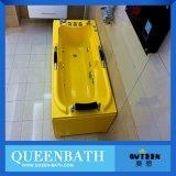 Bañera de interior de acrílico importada, cuarto de baño blanco libre (JR-B815)