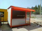 De Draagbaar Eenvoudig Mobiel Geprefabriceerd/PrefabKoffiebar van lage Kosten/Huis in de Straat
