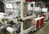 Linhas maquinaria da camada dobro quatro do saco de plástico