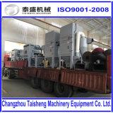 Explosionador de arena de la correa del acoplamiento de alambre de la certificación ISO9001/chorreadora de arena para la venta