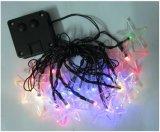 Étoile/Pentagram de lumière de chaîne de caractères de l'énergie solaire 20-LED pour la Neuf-Année Lh-Ss09 de mariage de Noël