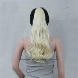 Fashion europeo ed americano Fluffy Pear Volume Caw Clip Ponytails
