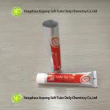 Tubos de cuero de la crema del cuidado de los tubos de los tubos de los tubos cosméticos plásticos del apretón