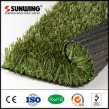 Grama artificial do jardim do lazer sintético chinês