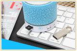Mini haut-parleur portatif de Bluetooth d'éclairage LED coloré avec la carte de FT (ID6005)