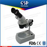 容易なハンドルが付いているFM-3024r2l 2ギヤステレオの顕微鏡は運ぶ