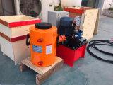 油圧ジャック80tonを持ち上げる二重代理のプランジャ
