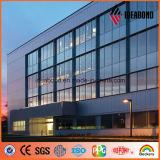 Espectros PVDF Revestimiento Exterior Decoración panel compuesto de aluminio (ACP)