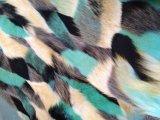 ジャカードファブリック、擬似毛皮、高いプラシ天