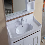 Side CabinetのPrice競争のWall Mounted PVC Bathroom Cabinet