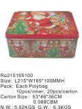 Коробка олова подарка Hotsale цветастая с произведением искысства таможни печатание