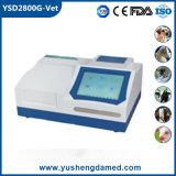 Cer-anerkanntes halbautomatisches Krankenhaus-Veterinärmaschinen-Biochemie-Analysegerät