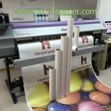 Tamanho seco rápido do rolo do papel de transferência térmica do Sublimation 55GSM para a matéria têxtil