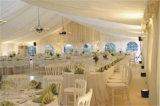 Шатер свадебного банкета шатра случая белой крыши PVC роскошный напольный