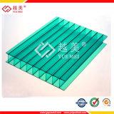 Лист PC Твиновск-Стены/двойной лист полости поликарбоната стены для строительного материала