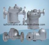 鋳造物鋼鉄か造られた鋼鉄自由余裕時間の球の蒸気トラップ