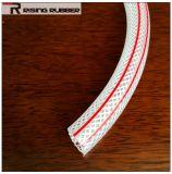Boyau de tissu-renforcé de PVC de catégorie comestible