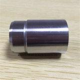 Embout en aluminium de précision de pièce de machines