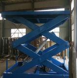 Il carico elettrico stazionario di sollevamento del magazzino della piattaforma Scissor la Tabella di elevatore