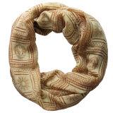 إمرأة نمو أبولّو يطبع بوليستر [شفّون] لامحدوديّة وشاح ([يك1107])