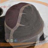 Menschliche Remy Grad-Haar-volle Spitze-wellenförmige Frauen-Perücke