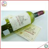 Etiqueta impermeável do projeto novo para o vinho