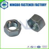 Noix Hex galvanisée blanche bleue de la pente 2&5&8 Cr+3 d'ASTM/ASME/ANSI SAE J995