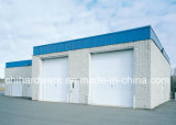 木製のガレージのドアまたは部門別のガレージのドアまたはオーバーヘッドドア