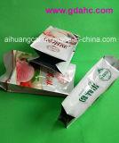 Bolso compuesto de aluminio plástico del alimento del bolso del escudete lateral