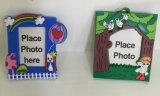 Het zachte Frame Keychain van de Foto van pvc & Sleutelring