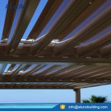 주문을 받아서 만들어진 알루미늄 분말에 의하여 입히는 미늘창 옥상정원 Pergola 디자인