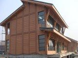 Tarjeta al aire libre del revestimiento de la fabricación WPC para el uso decorativo exterior