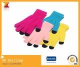 Gants colorés de mode d'écran tactile