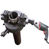 наружное установленное электрическое орбитальное вырезывание трубы нержавеющей стали металла и скашивая машина