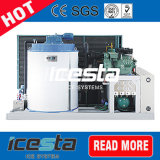 wassergekühlter Eis-Hersteller der Flocken-5000kg/Day mit Touch Screen