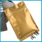 Bolsa de papel laminada plástico del alimento de Kraft para las galletas/café/chocolate/té/virutas