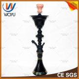 Glasprodukt-Rohr-rauchendes Zubehör-weibliches blaues Glasrohr