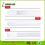 Lumière chaude froide en aluminium élevée de tube du blanc DEL du lumen 7W 9W 18W 24W 25W 2FT 4FT 5FT T5 T8