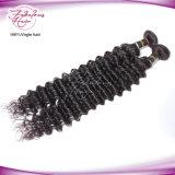 cabelo peruano Curly italiano do Virgin da chegada 8A nova