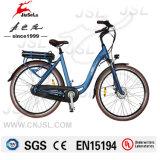 E-Bici sin cepillo de la aleación de aluminio del motor 700c de señora City Style 250W (JSL036C-7)