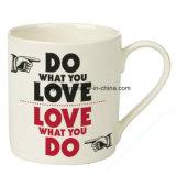 Tazza di ceramica di promozione, tazza di caffè di ceramica su ordinazione, tazza calda della porcellana
